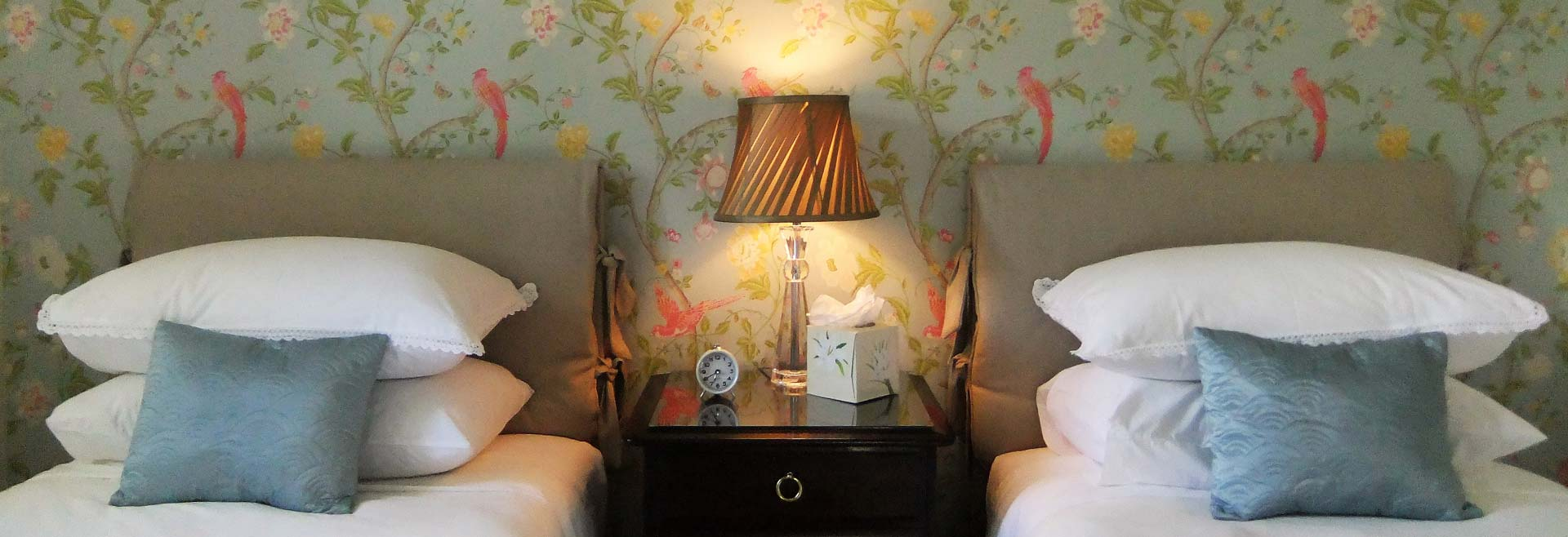One of the beautiful bedrooms at our guest house in Cirencester